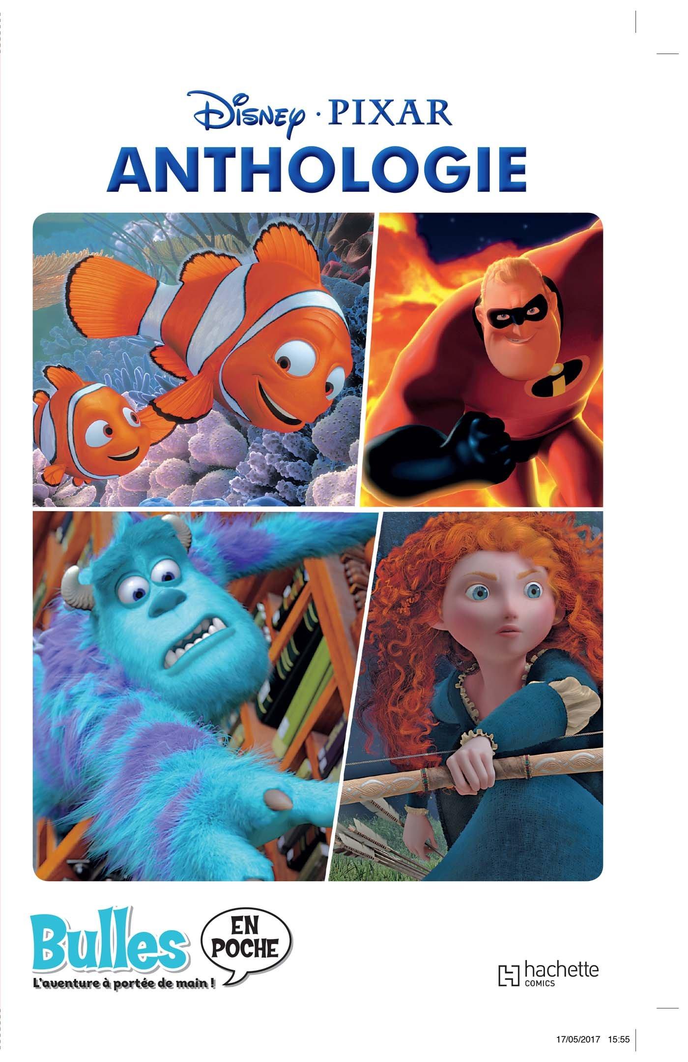 pixar anthologie bulles poche disney album bande dessinée hachette