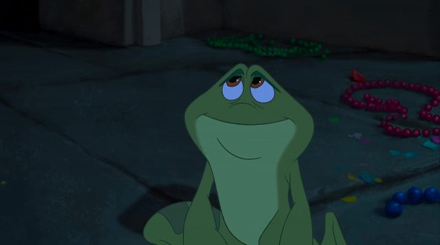 replique princesse grenouille frog disney quote