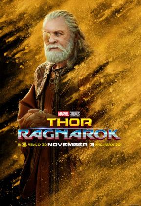 affiche thor ragnarok poster marvel disney