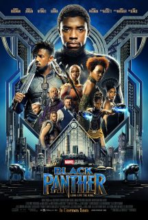 Affiche Black Panther Disney marvel Poster