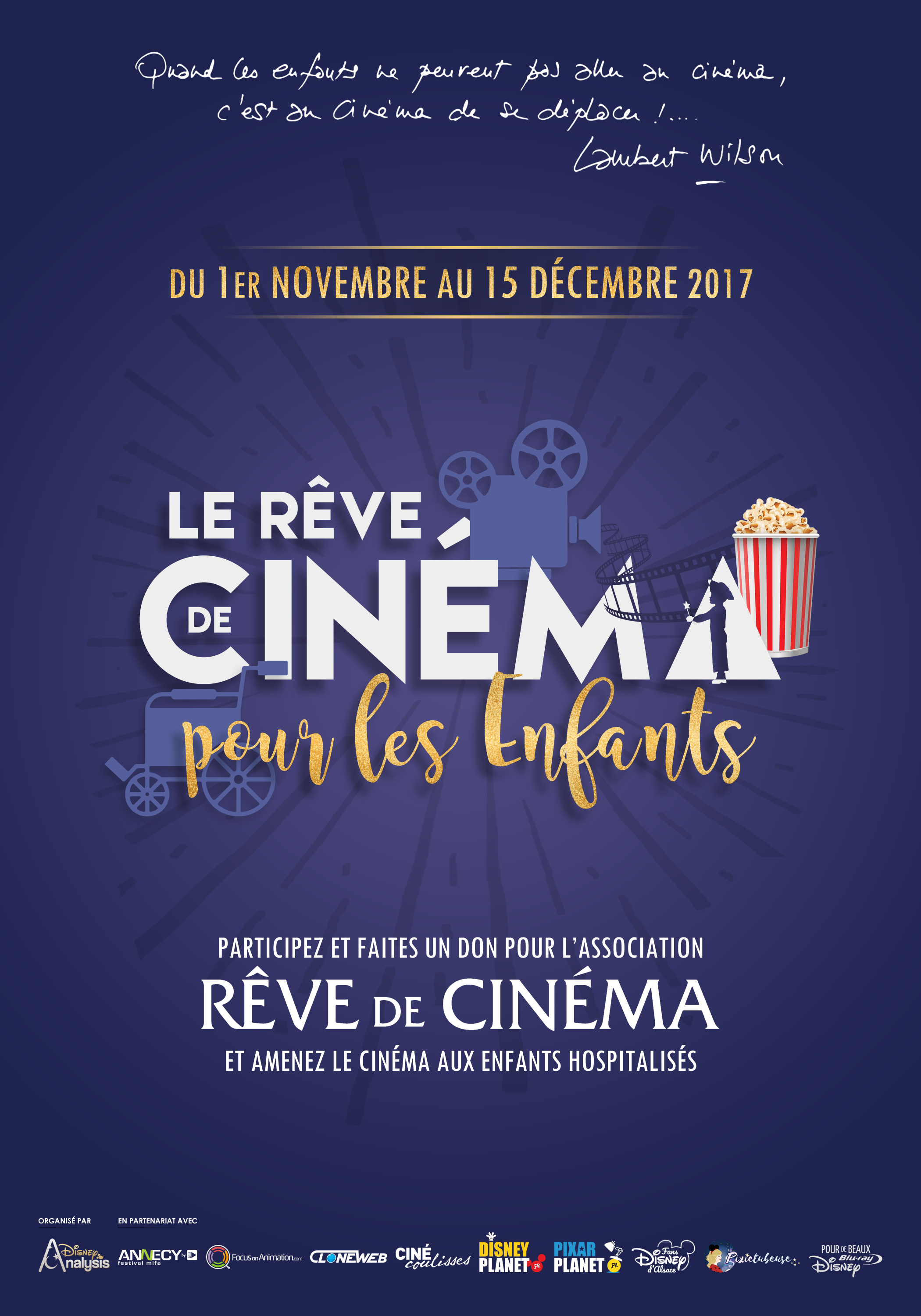 affiche reve cinema enfant 2017