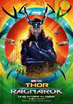 Affiche Thor Ragnarok Disney Poster Marvel