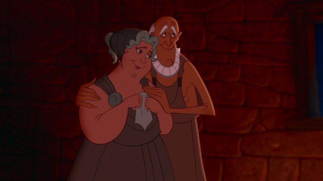 Amphitryon Alcmene   Personnage Character Disney Hercule