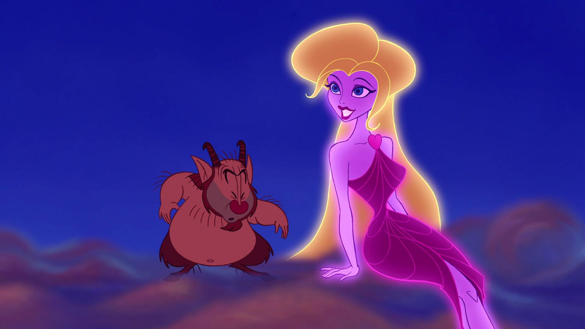 Aphrodite Personnage Character Disney Hercule