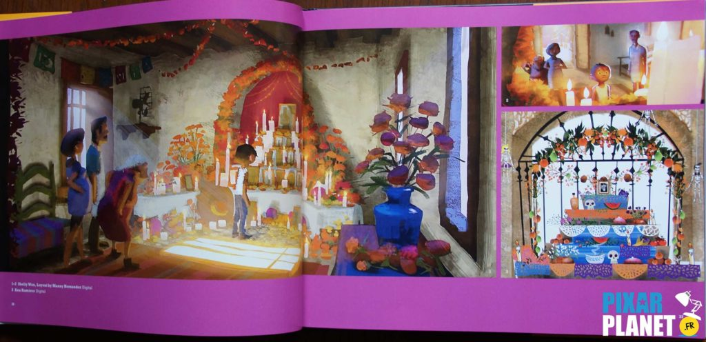 Art of Coco Disney Pixar Book livre artwork concept art
