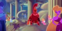 Artémis Personnage Character Disney Hercule