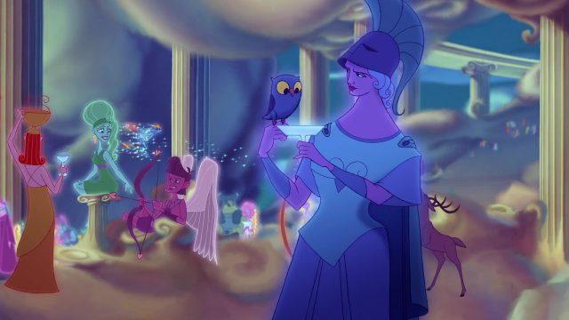 Athena Personnage Character Disney Hercule