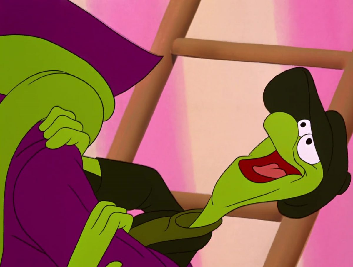 Bill lézard Personnage Alice au pays des merveilles Disney Character Wonderland