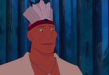 Chef powhatan Personnage Character Disney Pocahontas légende indienne
