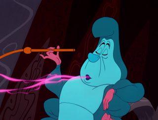 Chenille Caterpillar Personnage Alice au pays des merveilles Disney Character Wonderland