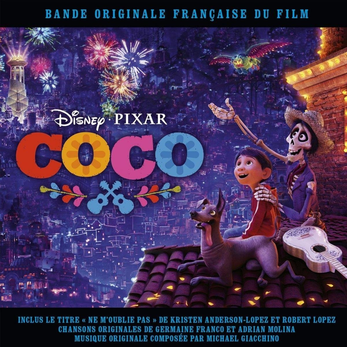 coco bande originale soundtrack disney pixar