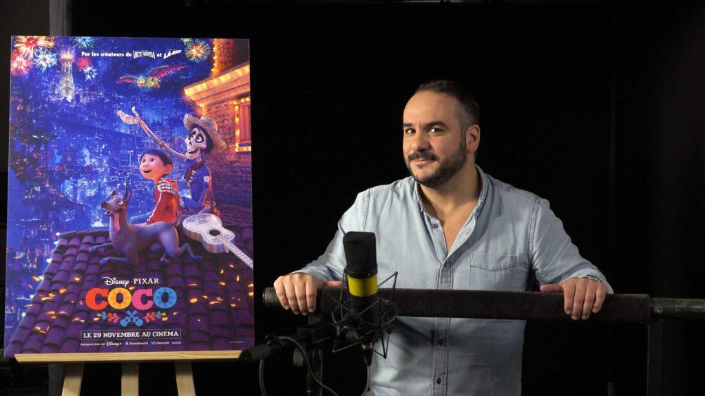 François-Xavier Demaison Coco Disney Pixar