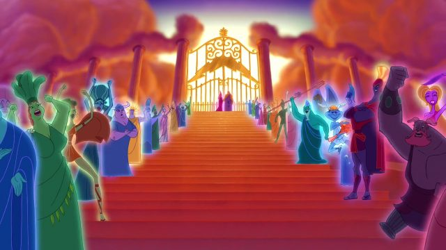 Déméter Personnage Character Disney Hercule