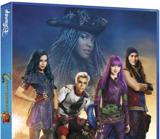 Descendants 2 DVD Disney Channel