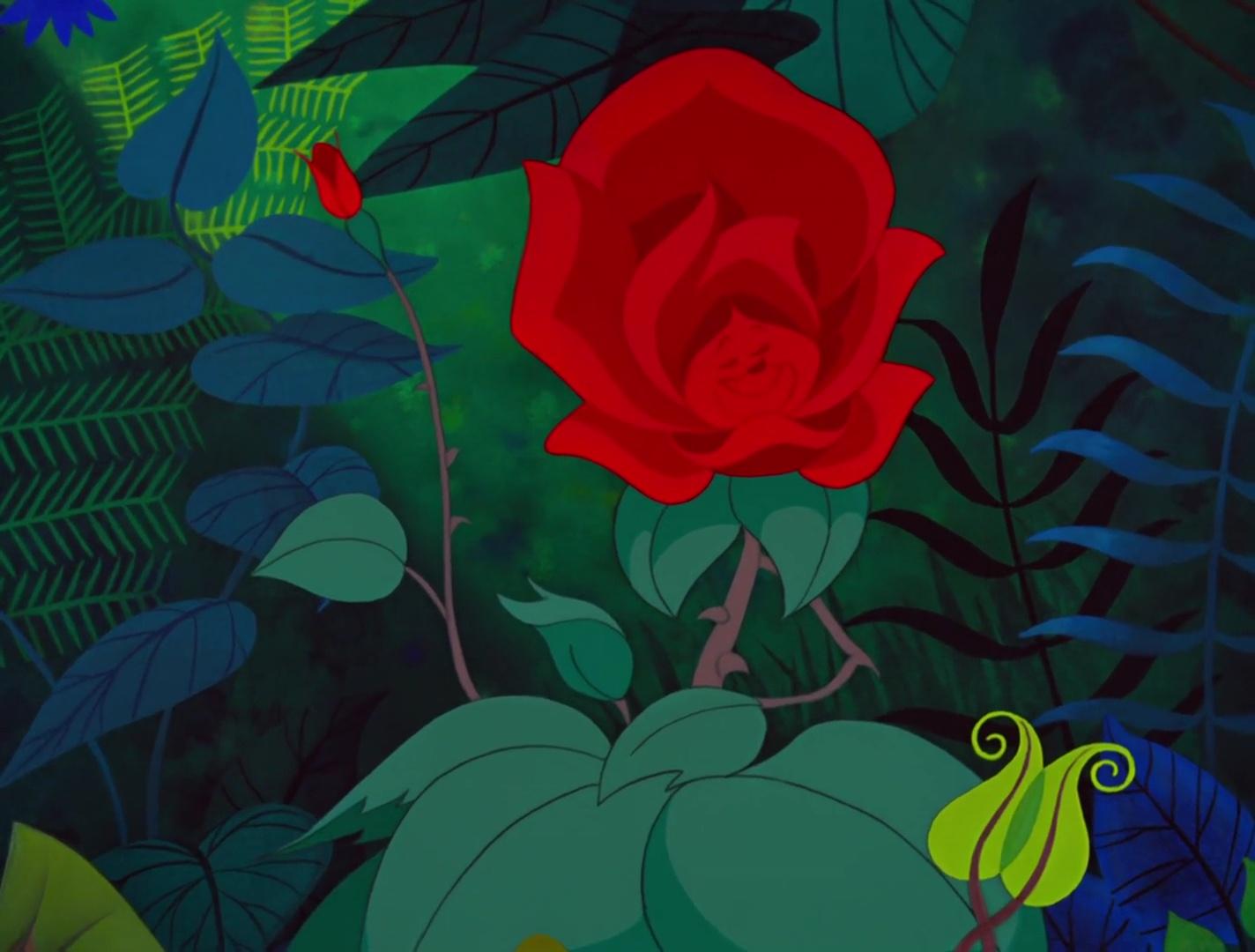 les fleurs personnages dans alice au pays des merveilles. Black Bedroom Furniture Sets. Home Design Ideas