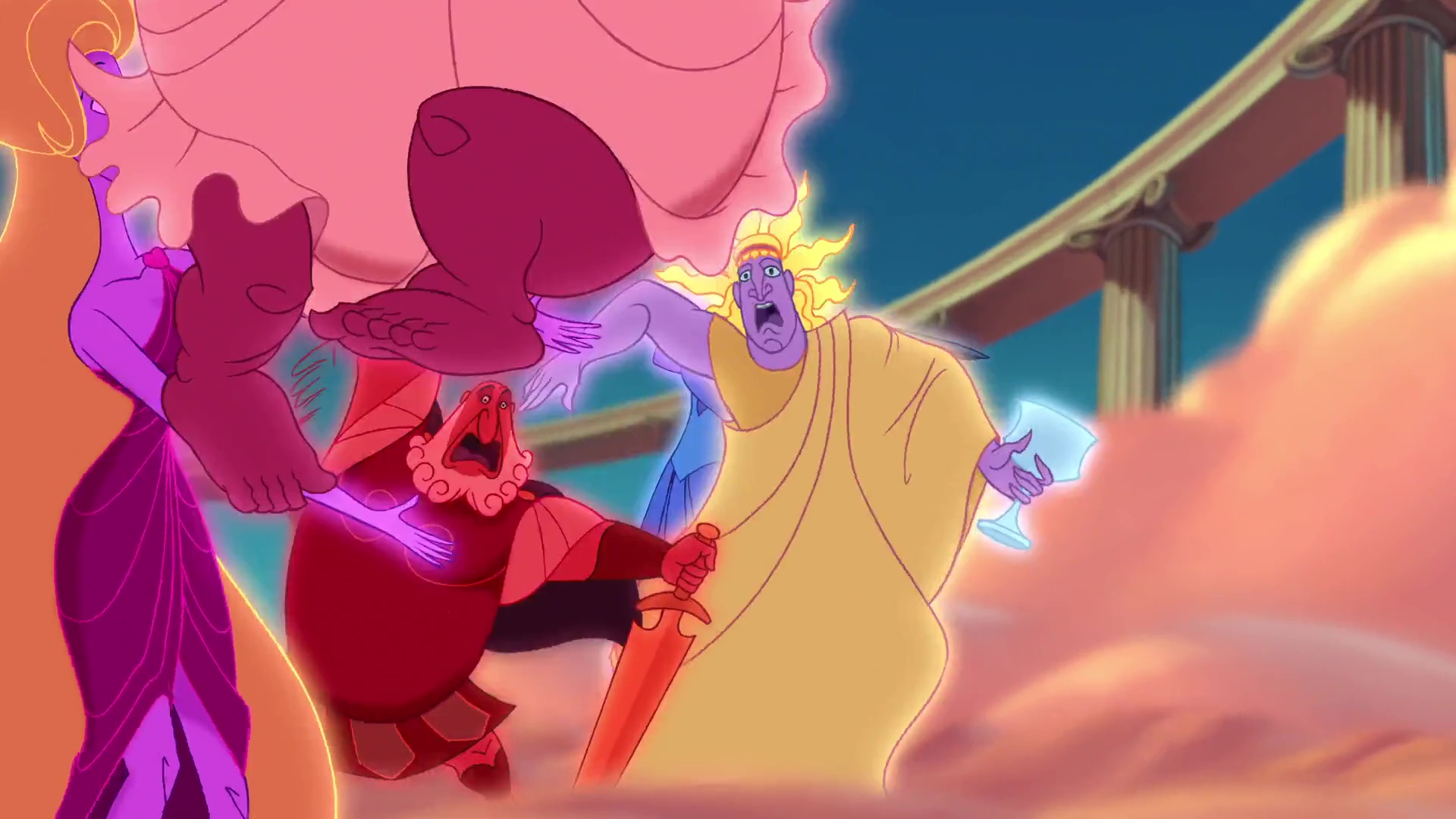 Hélios Personnage Character Disney Hercule