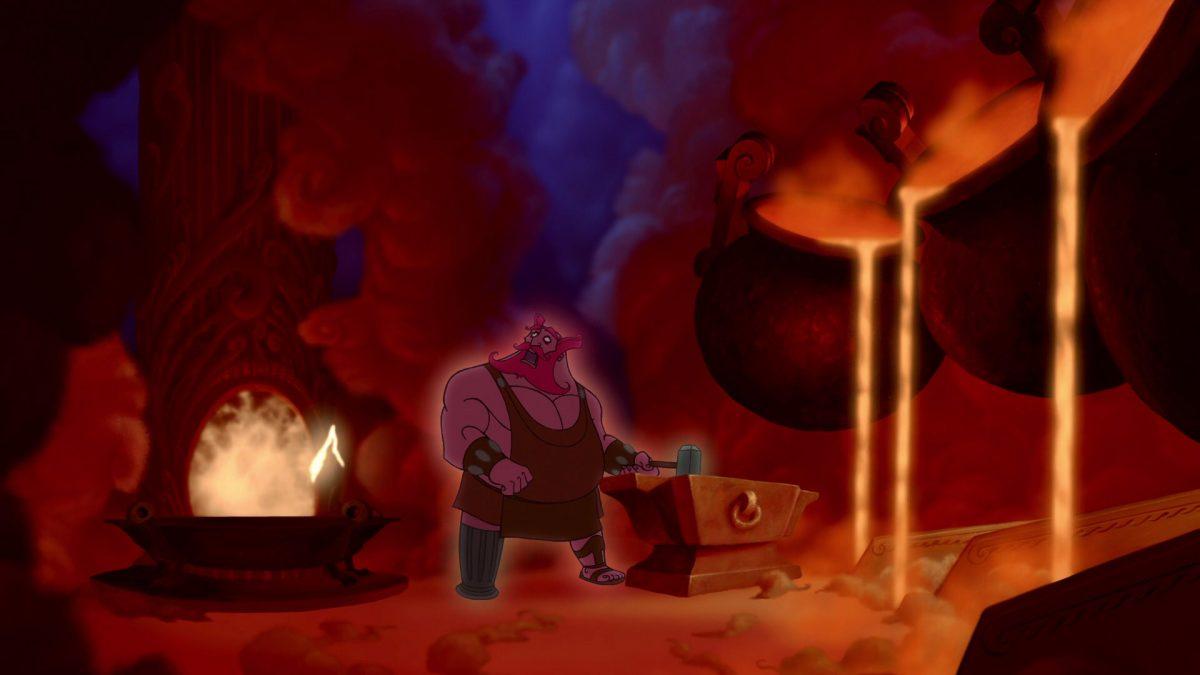 Hephaistos Personnage Character Disney Hercule