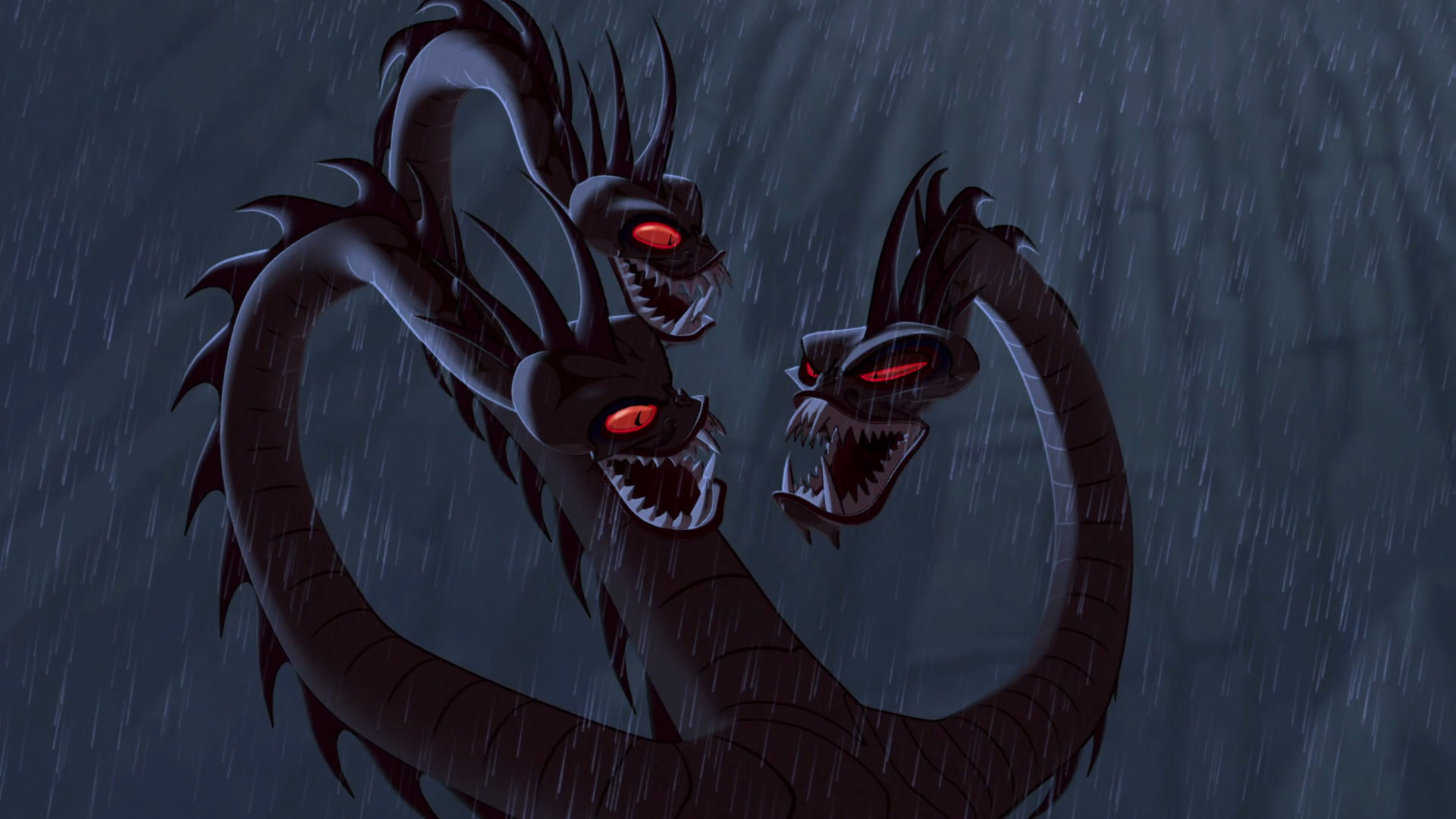 Hydre Hydra Personnage Character Disney Hercule