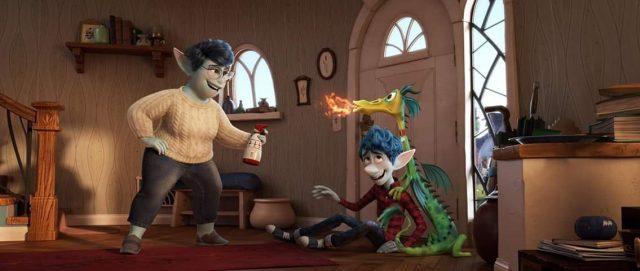 image en avant onward disney pixar