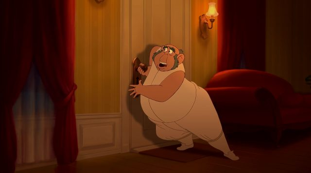 Lawrence Personnage Princesse grenouille Disney Character Frog