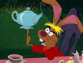 Lièvre Mars March Hare Personnage Alice au pays des merveilles Disney Character Wonderland