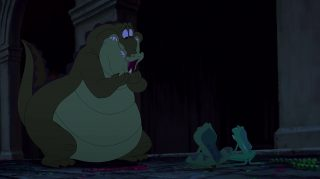 Louis Personnage Princesse grenouille Disney Character Frog