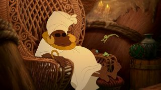 Mama Odie Personnage Princesse grenouille Disney Character Frog