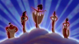 Muses Personnage Character Disney Hercule
