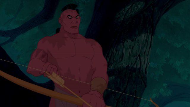 Namontack Personnage Character Disney Pocahontas légende indienne