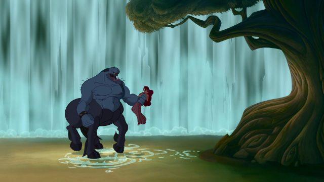 Nessus Personnage Character Disney Hercule