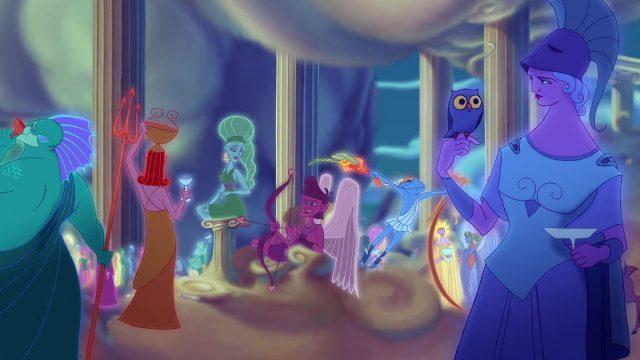 Niké Personnage Character Disney Hercule