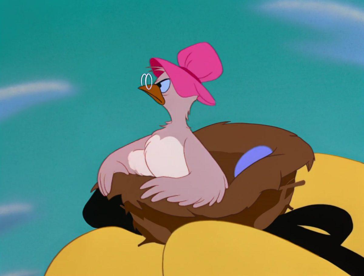 Oiseau Bird Personnage Alice au pays des merveilles Disney Character Wonderland