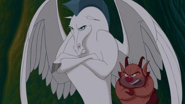 Pégase Pegasus Personnage Character Disney Hercule