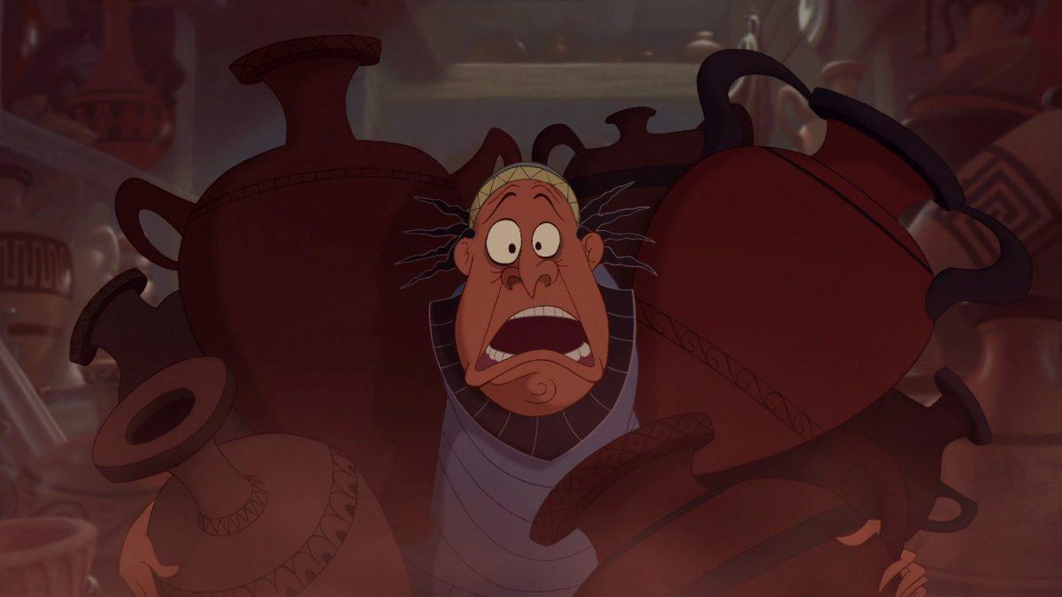 Démétrius Potier Pot maker Personnage Character Disney Hercule