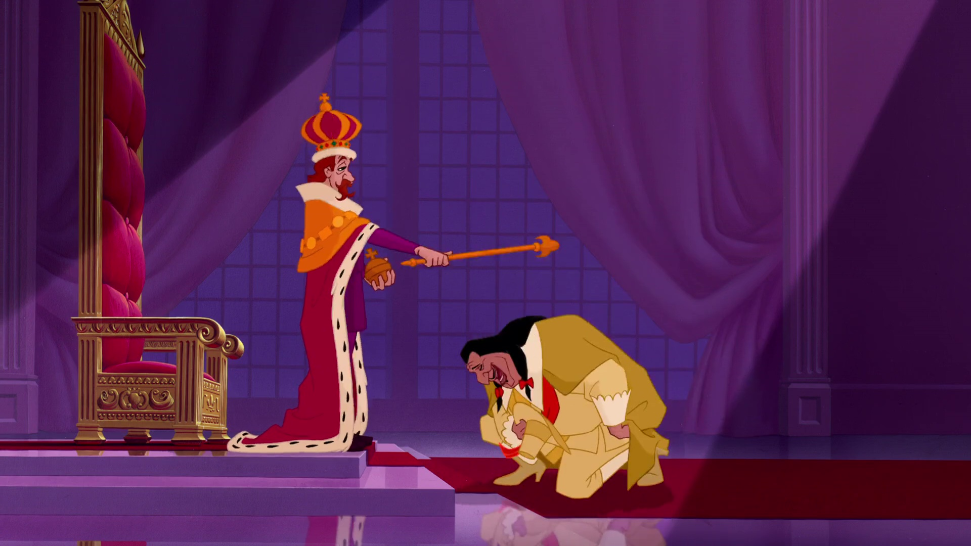 Roi King James Personnage Character Disney Pocahontas légende indienne
