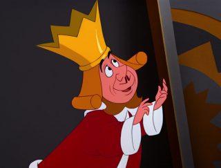 Roi Coeur King hearts Personnage Alice au pays des merveilles Disney Character Wonderland