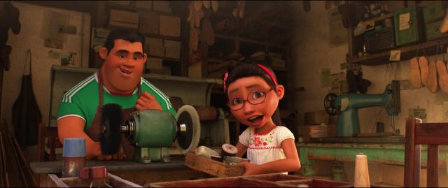 rosa personnage character coco disney pixar