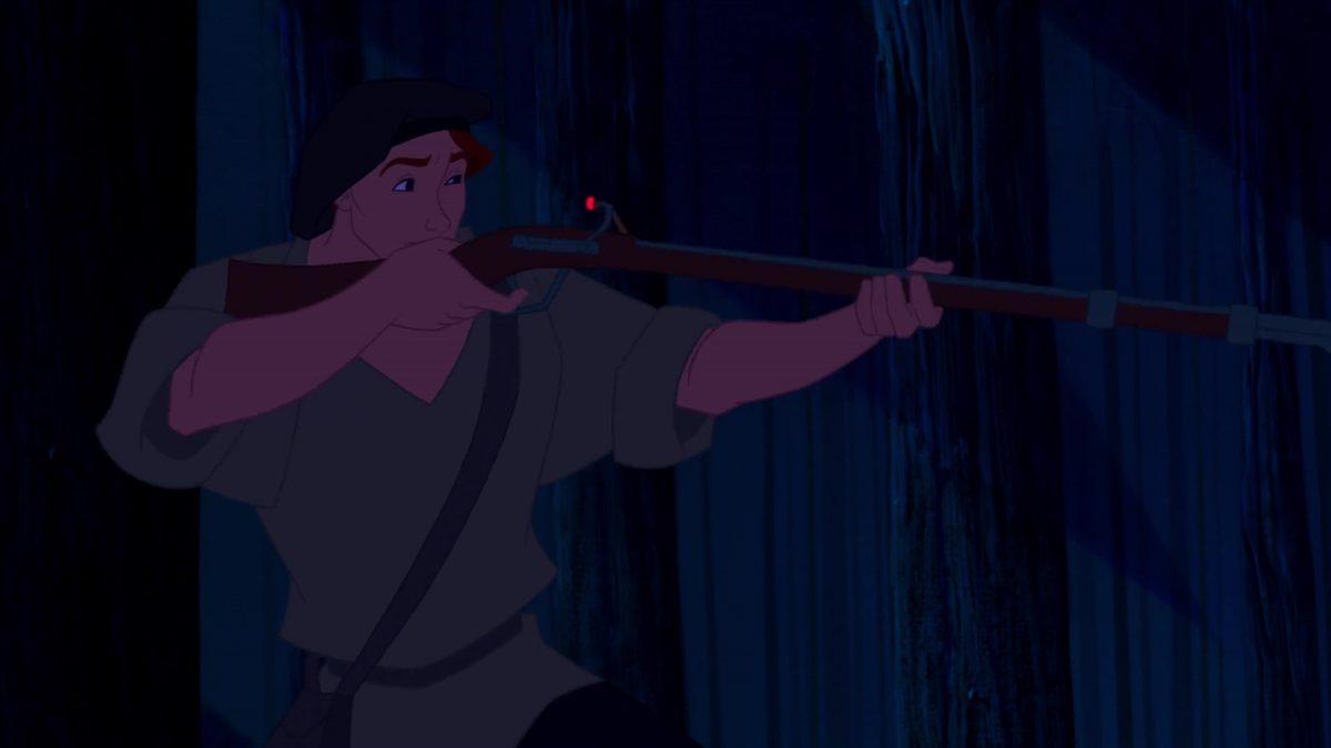 Thomas Personnage Character Disney Pocahontas légende indienne