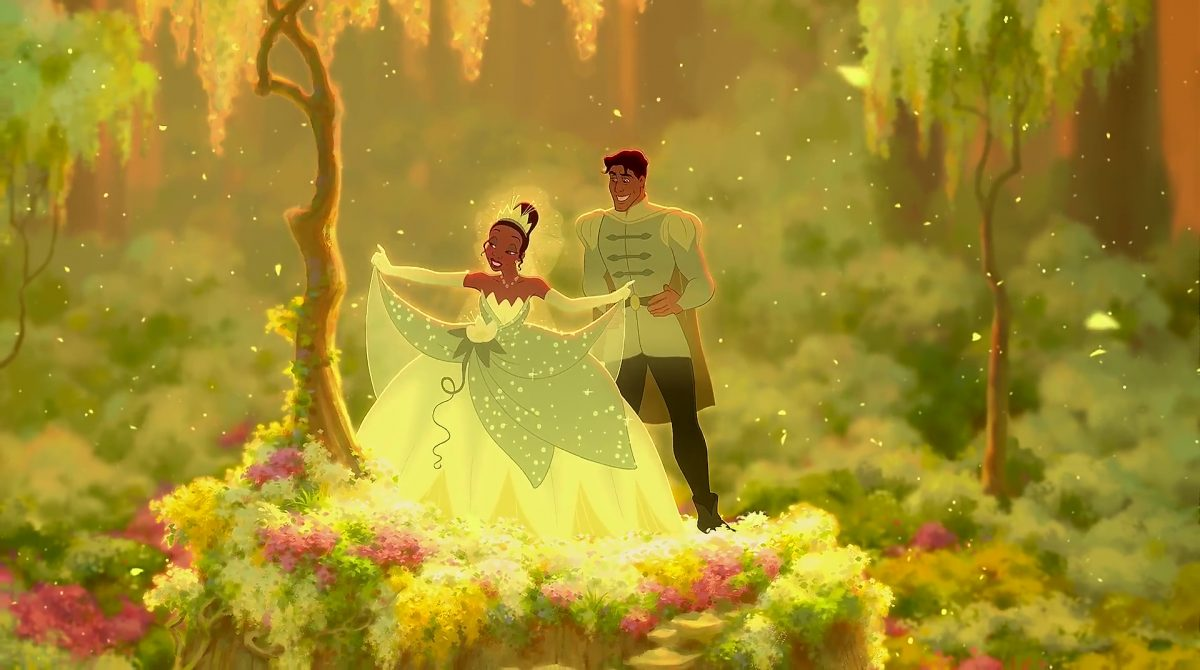 Tiana Personnage Princesse grenouille Disney Character Frog