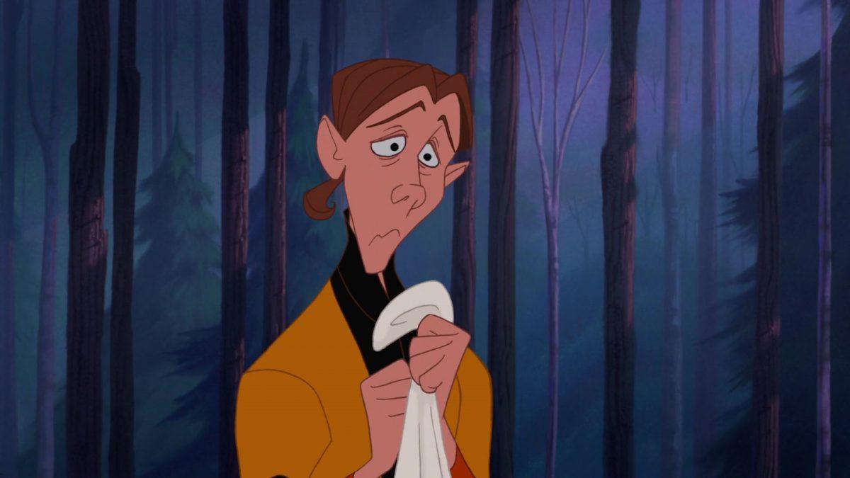 Wiggins Personnage Character Disney Pocahontas légende indienne