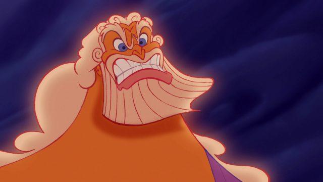 Zeus Personnage Character Disney Hercule