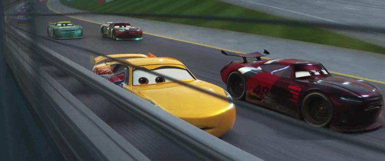 "Aaron Clocker, personnage dans ""Cars 3""."