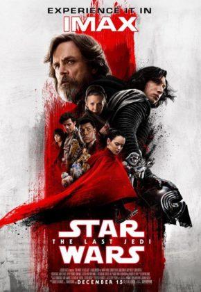 affiche star wars 8 dernier last jedi disney lucasfilm poster