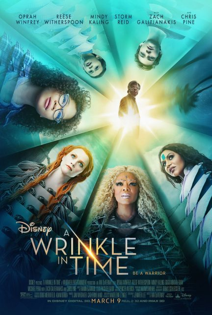affiche raccourci temps wrinkle time poster disney