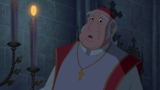 archidiacre archdeacon  personnage bossu notre-dame disney character hunchback