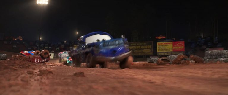 "Broadside, personnage dans ""Cars 3""."