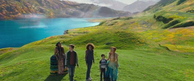 capture wrinkle time raccourci temps disney