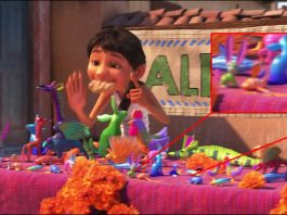 clin oeil easter egg coco disney pixar