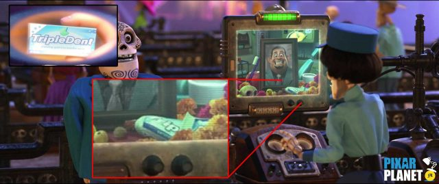 clin oeil easter egg disney pixar coco