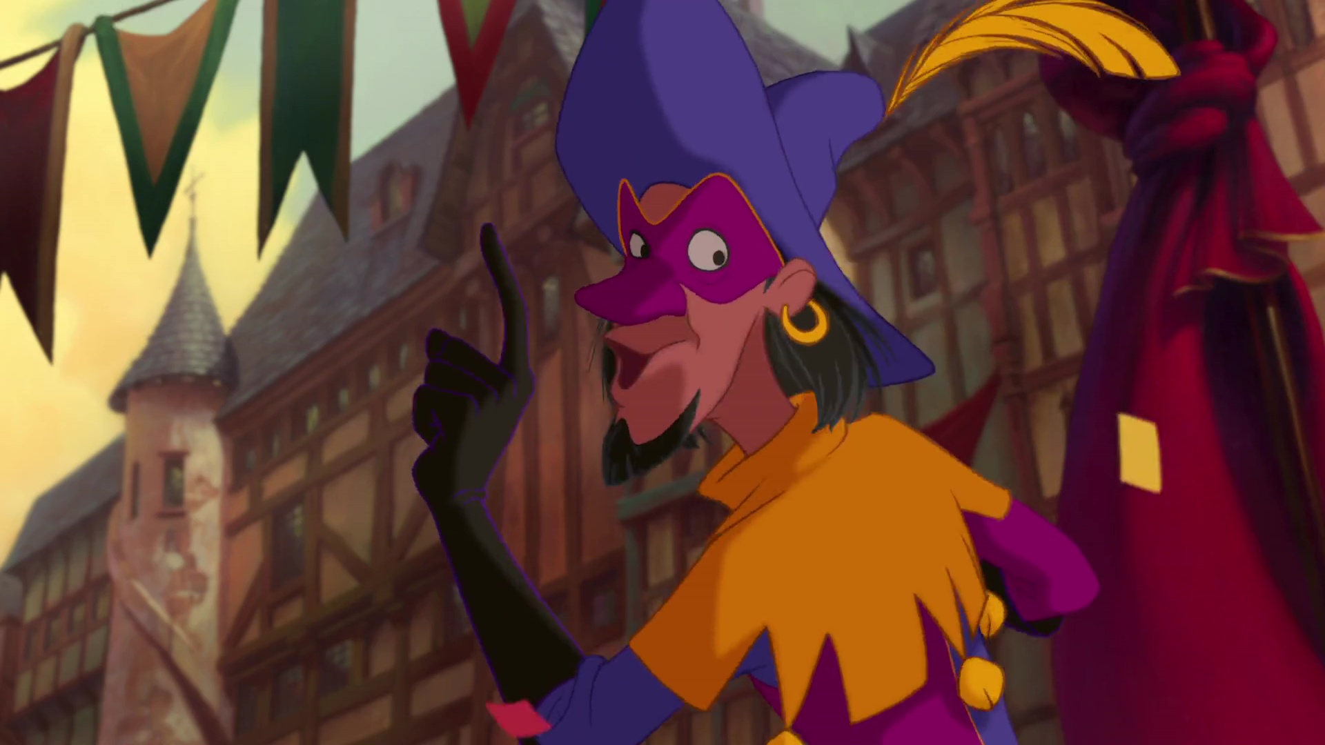 clopin personnage bossu notre-dame disney character hunchback